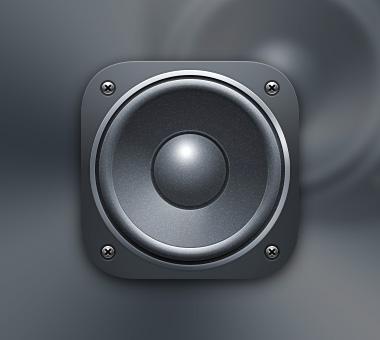 拟物扬声器 · 图标练习